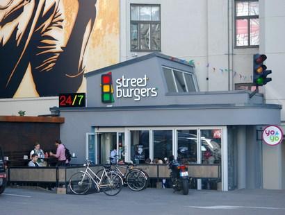 Vasaras terase Street Burgers